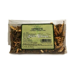 Cipreste (Cupressus sempervirens) Parte Aérea NUTRI ERVAS 30g