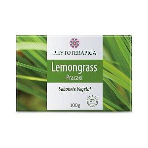Sabonete Vegetal de Lemongrass (Capim-cidreira) + Pracaxi PHYTOTERÁPICA 100g