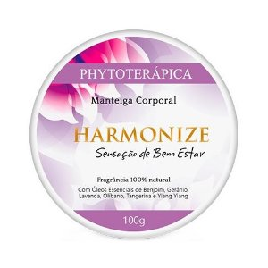 Manteiga Corporal Harmonize (Sensação de Bem-estar) PHYTOTERÁPICA 100g