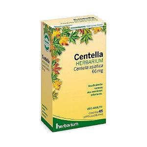 Extrato Seco de Centella (Centella asiática) HERBARIUM 66mg 45 Cápsulas