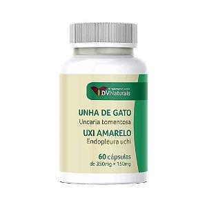 DV Unha de Gato (Uncaria tomentosa) 350mg + Uxi Amarelo (Endopleura uchi) 150mg 90 Cápsulas