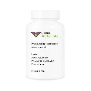 Castanha da Índia (Aesculus hippocastanum) DV 500mg 60 Cápsulas