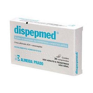 Dispepmed Complexo Homeopático ALMEIDA PRADO (Dispepsias e Indigestão) 30 Comprimidos