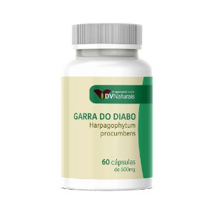 DV Garra do Diabo (Harpagophytum procumbens) 500mg 60 Cápsulas