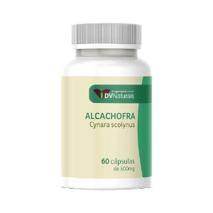 DV Alcachofra (Cynara scolynus) 500mg 60 Cápsulas