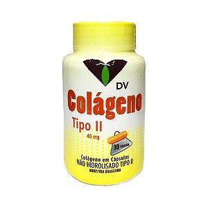 DV Colágeno Tipo 2 (UC-2) (Articulações) 40mg 30 Cápsulas