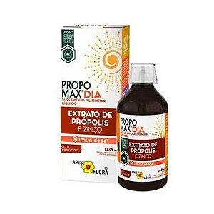 Propomax Dia Extrato de Própolis (Zinco + Vitamina C) Imunidade APIS FLORA 140ml