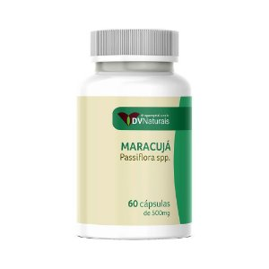 DV Maracujá (Passiflora spp.) 500mg 60 Cápsulas