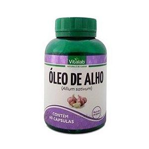 OLEO DE ALHO 60 CAPS 250MG VITALAB