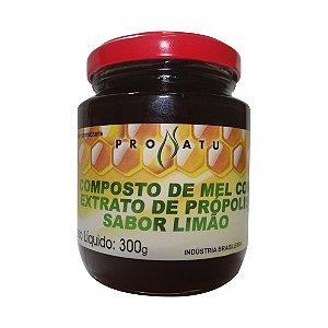 Mel Composto com Extrato de Própolis e Limão PRONATU 300g