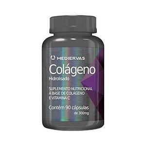 Colágeno com Vitamina C MEDIERVAS  300mg 90 Cápsulas