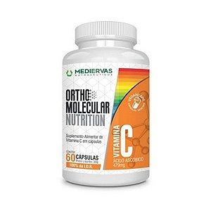 Ortho Molecular Vitamina C Acido Ascorbico 479Mg 60caps Mediervas