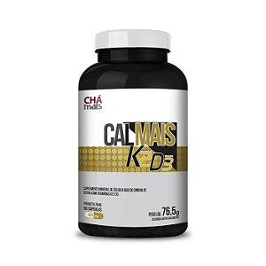 Calmais K2+D3 CHÁ MAIS (ClinicMais) 500mg 90 Cápsulas