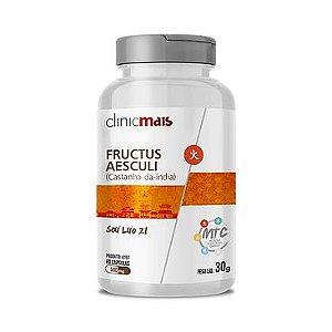 Castanha da Índia (Fructus Aesculi) CHÁ MAIS (ClinicMais) 500mg 60 Cápsulas