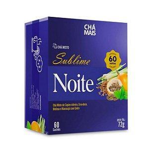 Chá Sublime Noite CHÁ MAIS 60 Sachês
