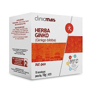 Chá de Ginkgo Biloba (Herba Ginko) CHÁ MAIS (ClinicMais) 10 Sachês