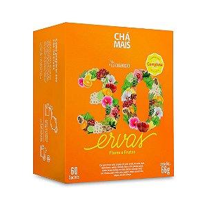 Chá Misto 30 Ervas Flores e Frutas CHÁ MAIS (ClinicMais) 60 Sachês