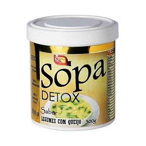 Sopa Detox MOSTEIRO DEVAKAN Sabor Legumes Com Queijo 300g