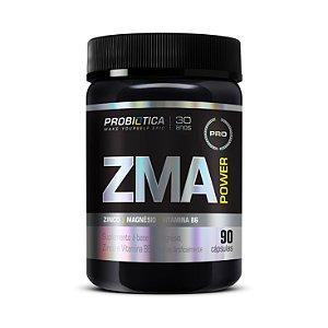 ZMA Power (Zinco+Magnésio+B6) PROBIÓTICA 90 Cápsulas