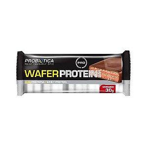 Wafer Protein Bar PROBIÓTICA Sabor Morango 30g