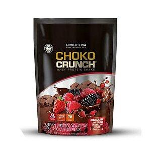 Whey Choko Crunch PROBIÓTICA Sabor Chocolate com Frutas Vermelhas 555g