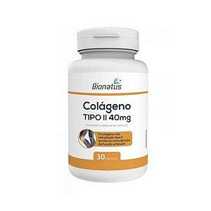 Colágeno Tipo 2 BIONATUS 40mg 30 Cápsulas