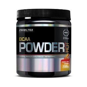 BCAA Powder PROBIÓTICA Sabor Laranja com Gengibre 200g