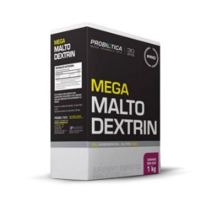 Mega Maltodextrina PROBIÓTICA Sabor Guraná com Açaí 1kg