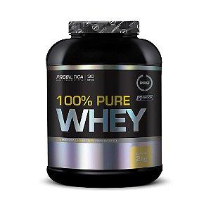 Whey Pure 100% PROBIÓTICA Concentrado Sabor Baunilha 2kg