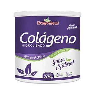 Colágeno Hidrolisado SEMPREBOM Sabor Natural 200g
