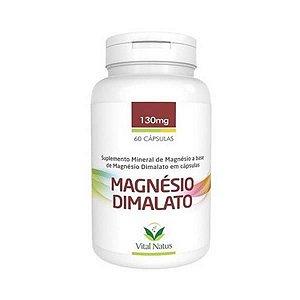 Magnésio Dimalato VITAL NATUS 430mg 60 Cápsulas