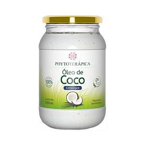 Óleo de Coco Extra Virgem PHYTOTERÁPICA Ôrganico 500ml