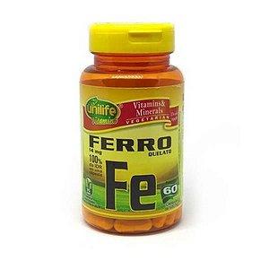 Ferro Quelado UNILIFE 500mg 60 Cápsulas Vegetais