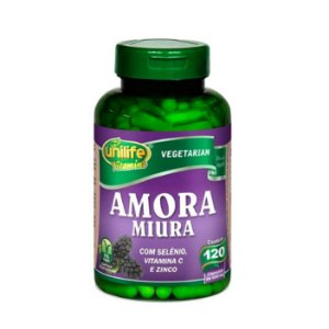 Amora Miura UNILIFE 500mg 120 Cápsulas Vegetais