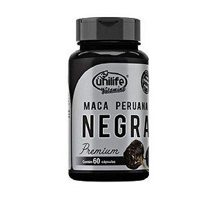 Maca Peruana Negra UNILIFE 450mg 60 Cápsulas Vegetais