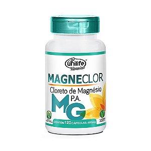 CLORETO DE MAG. MAGNECLOR 600MG.120 CAPS UNILIFE