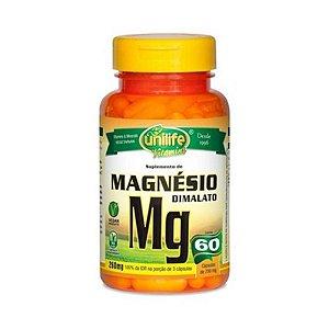 Magnésio Dimalato UNILIFE 700mg 60 Cápsulas Vegetais