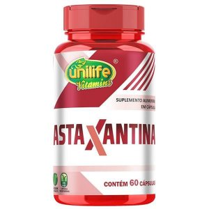 Astaxantina UNILIFE 400mg 60 Cápsulas Vegetais