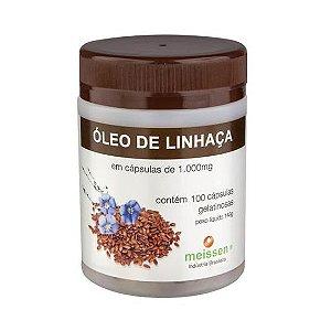 OLEO DE LINHACA 100CAPS 1000MG MEISSEN
