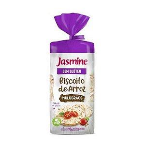 Biscoito de Arroz  JASMINE Multigrãos sem Glúten 90g