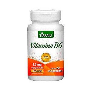 Vitamina B6 (Piroxidina) TIARAJU 98,6mg 60 Comprimidos