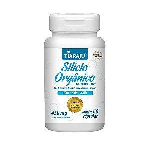 Silício Orgânico (Nutricolin) TIARAJU 450mg 60 Cápsulas