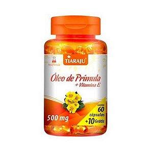 Óleo de Prímula + Vitamina E TIARAJU 500mg 60 + 10 Cápsulas