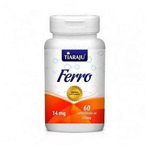 Ferro TIARAJU 34,31mg 60 Comprimidos
