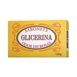 SABONETE GLICERINA ODOR DE ROSAS 100GR AUGUSTO CALDAS