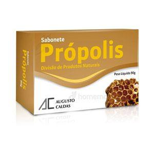 SABONETE PROPOLIS 90 GRS AUGUSTO CALDAS