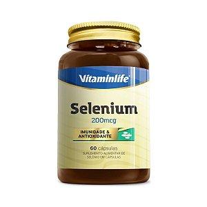 Selenium (Selênio) VITAMINLIFE 200mcg 60 Cápsulas
