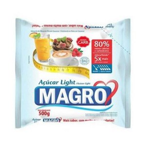 ACUCAR LIGHT MAGRO 500G LOWCUCAR