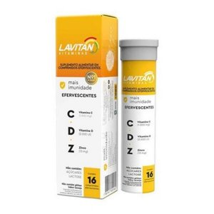 Lavitan Imunidade CDZ CIMED16 Comprimidos Efervescentes