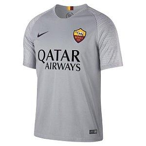 Camisa Roma Away 18 19 Torcedor Nike Masculina 5ce22ebdd170c